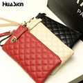 Fashion women quilted long wallet crown women Wallet With Coin Bag Plum flower clutch long wallet Lingge cell phobe bag Z11