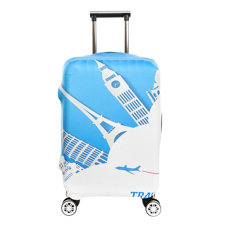 Dust Fashion Elastic Luggage Case Cover 18-32 Inch Trolley Suitcase Protective resistant Travel Organizer Accessories Supplies