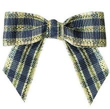 600pcs Handmade Flower of Scotland Tartan Ribbon Bows