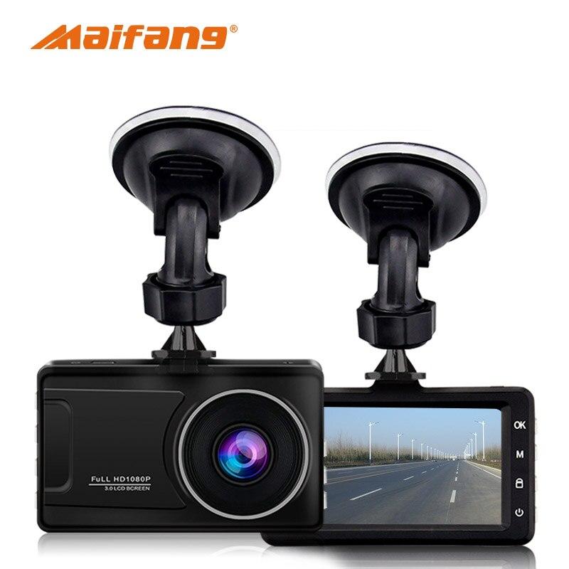 Denicer Voiture Dash Caméra 30fps Conduite Enregistreur FHD 1080 p Vidéo Registrator Voiture 170 Degrés Vidéo Enregistreur G-Capteur dash Caméra
