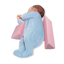 Adjustable Newborn Baby Pillow Anti-rollover Side Sleeping Triangle Infant Positioning For 0-3 Years