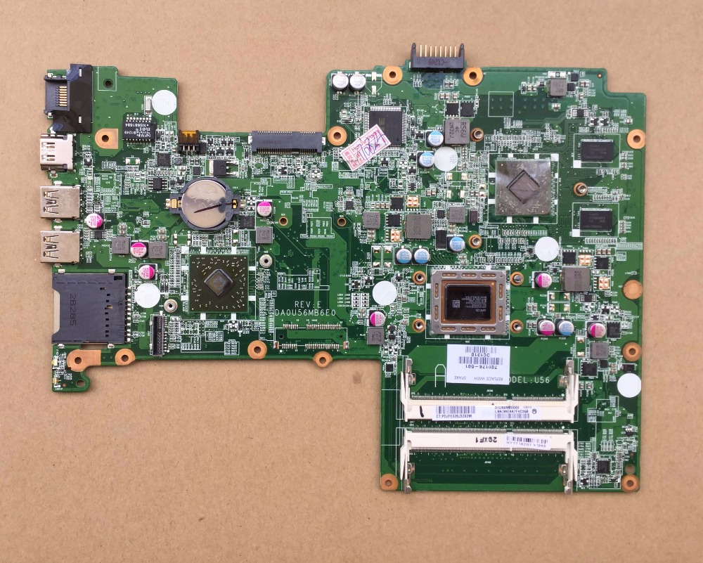 709176-001 For HP Pavilion Sleekbook 15 laptop motherboard 709176-501 cpu A8-4555M 100% Tested 60 days warranty 45 days warranty for hp dv7 580974 001 laptop motherboard for intel cpu with 8 video chips non integrated graphics card