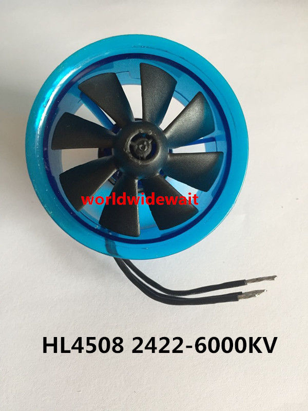 New HL4508 2422 6000KV Motor EDF 45mm Ducted Fan for RC Aircraft AirplaneNew HL4508 2422 6000KV Motor EDF 45mm Ducted Fan for RC Aircraft Airplane