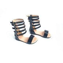 Top quality Girls Sandals Bicrofiber Fashion Children Shoes