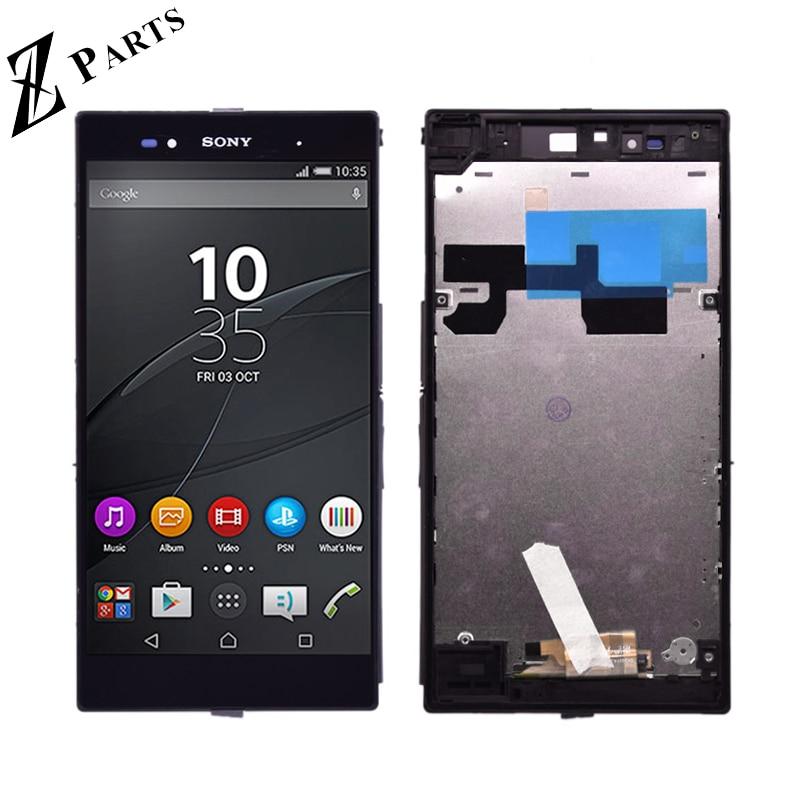 6,44 ''Original Für Sony Xperia Z Ultra XL39h XL39 C6833 C6802 LCD Display + Touch Screen Digitizer Montage freies verschiffen-in Handy-LCDs aus Handys & Telekommunikation bei
