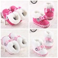 0-1 female baby toddler shoes shoes trade winter snow boots warm soft bottom baby shoes