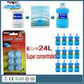 6 Pcs/Pack Amazing New Arrival Auto Windscreen Cleaner  Car Windscreen Cleaning Agent Pills Effervescent Tablets Glass Water