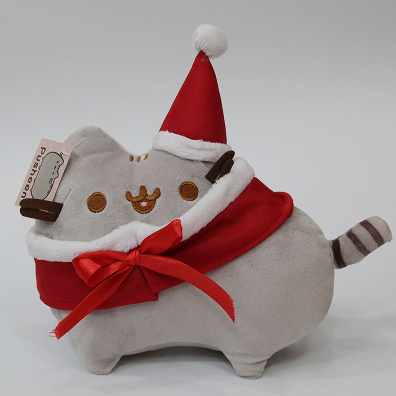 Rosiky 23cm children baby doll Fat Pusheen Cat Cookie & Icecream & Doughnut & Cake Stuffed & Plush Animals Toys for Girls