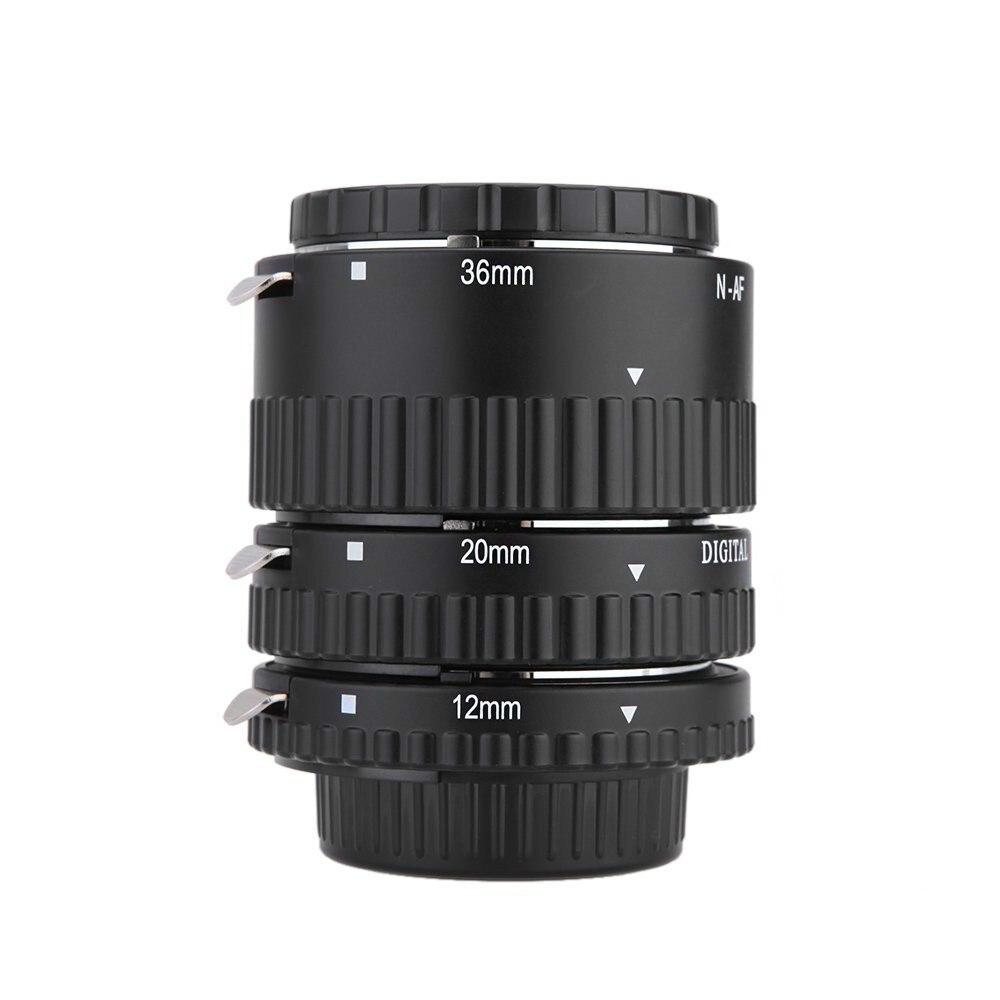 Auto Focus Macro Extension Tube Ring for Nikon D7100 D7000 D5100 D5300 D3100 D800 D600 D300s D300 D90 D80