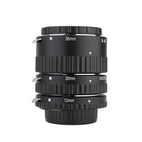 Auto Focus Macro Extension Tube Ring for Nikon D7100 D7000 D5100 D5300 D3100 D800 D600 D300s D300 D90 D80