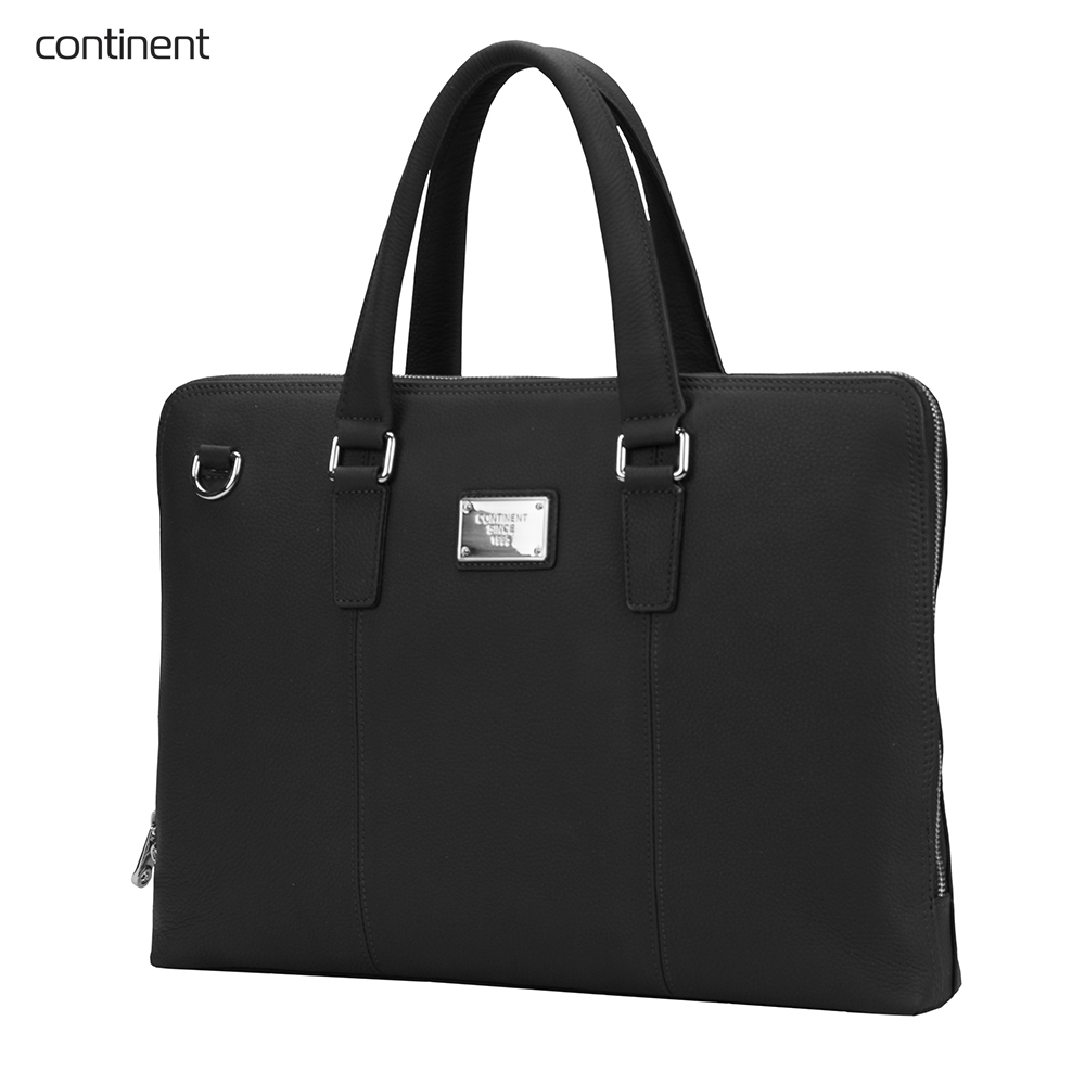 Фото - Laptop Bags & Cases Continent CONCL105BK for laptop portfolio Accessories Computer Office for male female 2017 hot handbag women casual tote bag female large shoulder messenger bags high quality pu leather handbag with fur ball bolsa