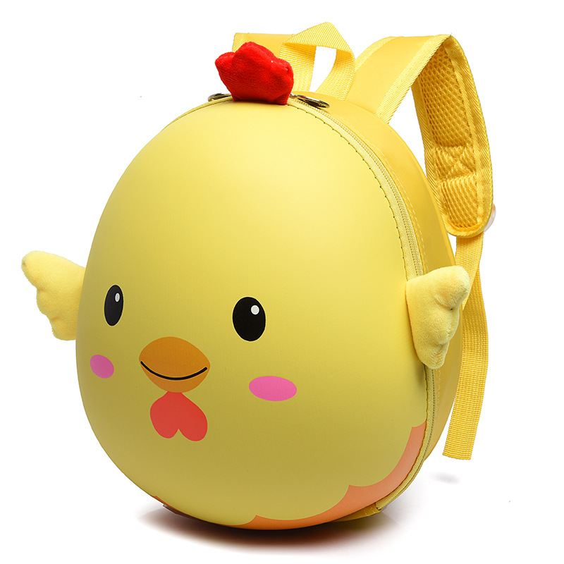 Kids 3D Chick School Bags Animal Cartoon EVA Backpack For Kindergarte Children Girls Hard Shell Backpacks Boy Mochila Infantil
