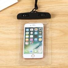 Герметичные водонепроницаемые чехлы для телефонов с ремнем, защитная сумка, сухой Чехол, защитный чехол, 3,5 дюймов-6 дюймов, сумки для плавания для смартфонов