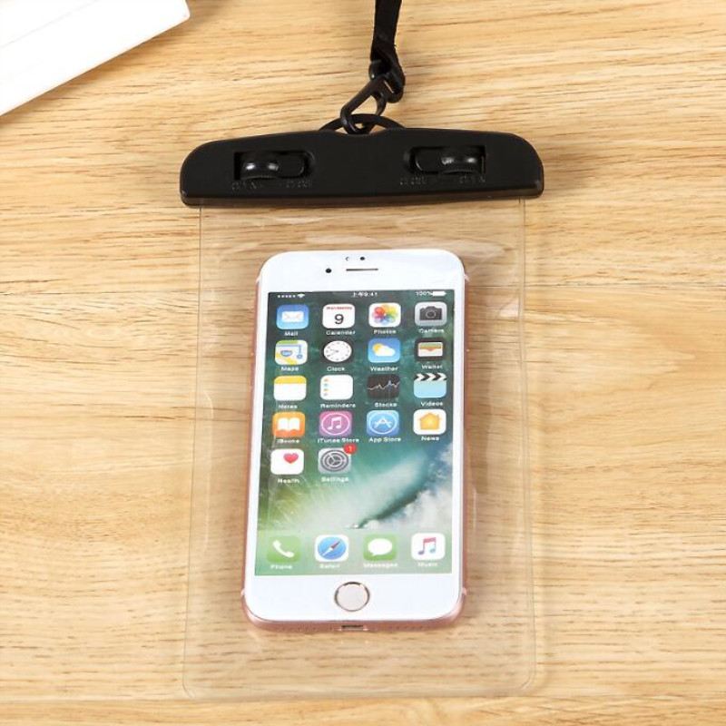 Sealing Waterproof Phone Bags With Strap Protect Bag Dry Pouch Protective Case Cover 3.5 Inch -6 Inch Smart Phone Swimming Bags