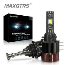 Автомобильный H15 Светодиодный фонарь, 90 Вт, 6500 лм, беспроводной автомобильный головной светильник, 12 В, конверсионный светильник для вождения, К, белый, для гольфа, Audi, BMW