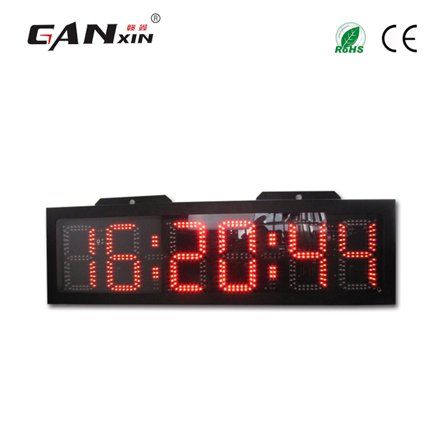 519aef7cf [GANXIN] 8 ''6 dígitos LED rojo carrera temporizador deportivo maratón  correr reloj