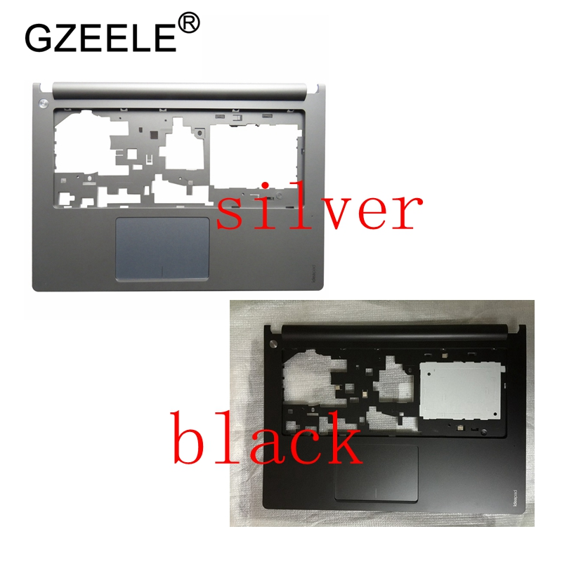 GZEELE New for Lenovo Ideapad S400 S405 S410 S415 Upper Palmrest Case black AP0SB000100 silve AP0SB000180 keyboard bezel house 2200mah black battery for lenovo ideapad s300 s310 s400 s400u s405 s410 s415 4icr17 65 l12s4l01 l12s4z01