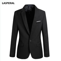 LASPERAL 2017 Hot Casual Jackets Coats Men Fashion Long Sleeve Turn Down Collar Jacket Male Suits