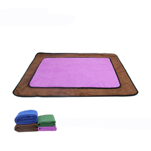 JORMEL Microfiber Absorbent Pet Isolation Pad Washed Dog Period Mat Production Bath Towels Supplies
