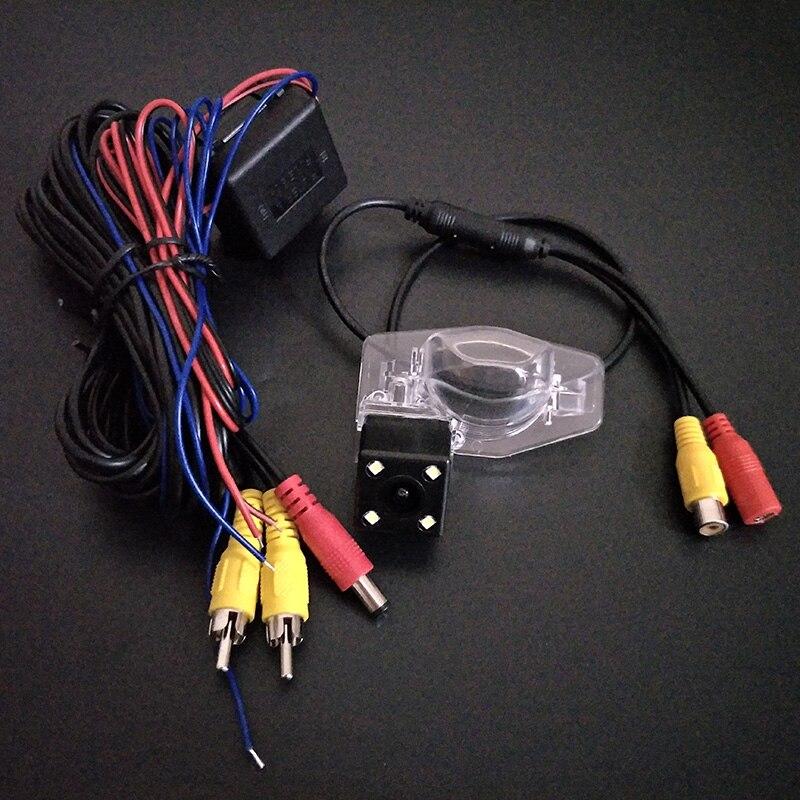 RCA проводной или Беспроводной Камера для Honda Odyssey 2000 ~ 2015/HD широкоугольный объектив/CCD Ночное видение сзади вида автомобиля резервного камер