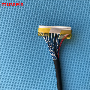 Image 4 - Для ЖК контроллера панель двойной 8 бит интерфейсный провод FIX D8 30pin LVDS кабель Бесплатная доставка 3 шт./лот