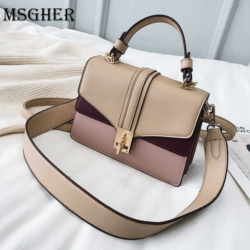 2afd8b1870c5 MSGHER 2019 Cheap Women s Handbags Casual Shoulder Bags Youth Girls Brand  Design Cross-body Tote