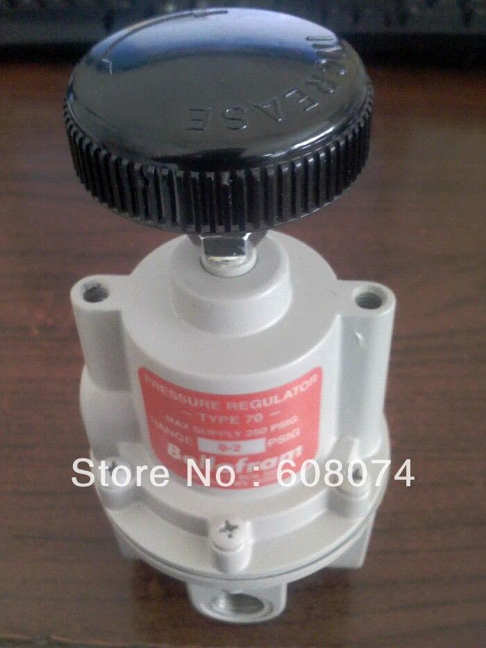 MARSH BELLOFRAM 960-152-000 HIGH FLOW PRESSURE REGULATOR T70 3-200PSI 1/4NPT bellofram t77 vacuum regulator 960 500 000 2psi vacuum low pressure valve