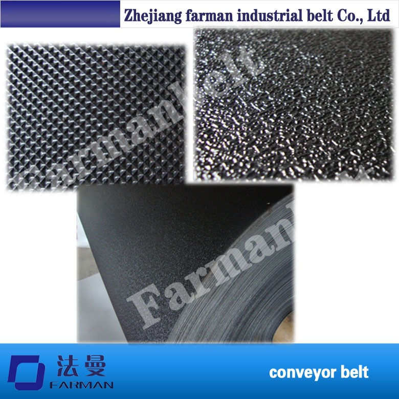 Diamond/golf Pattern Treadmill Conveyor Belt Pvc Conveyor Belt pvc treadmill running belt exercise diamond pattern black color treadmill belt
