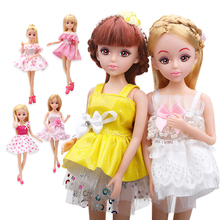 Lelia Dolls Beautiful Brinquedo Mini Reborn Mini Barbies Doll Fshion Babies Toys For Girls Toys For