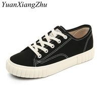 Women's   Vulcanize     Shoes   Classic Canvas   Shoes   Girl Casual Low-cut Lace-up Fashion Student Sneakers Women Breathable Walking Flats