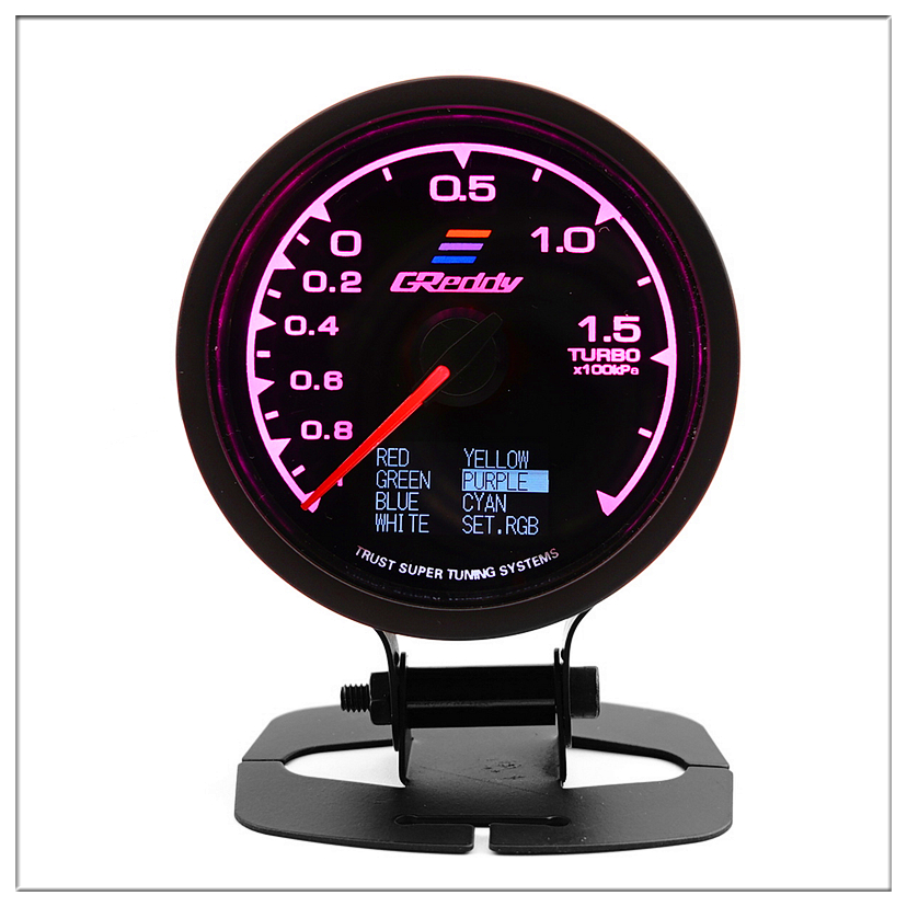 Датчик GReddi Boost для honda city civic 2005, 2006, 2008, ek accord 7, 2008, автоматический датчик турбодавления, измеритель давления, 60 мм