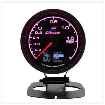 Greddi Meningkatkan Gauge untuk Honda City Civic 2005 2006 2008 Ek Accord 7 2008 Auto Meningkatkan Pointer Turbo Tekanan Meter 60 Mm