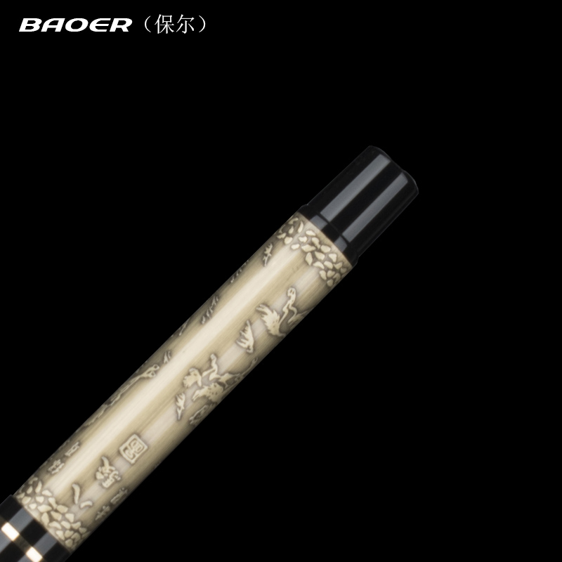 Baoer 507 the eight horses Medium Nib Fountain Pen High Quality Ink Pens School Business Supplies For Student Gift