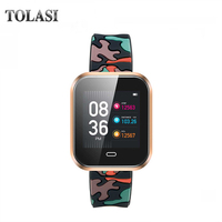 TALOSI CD16 Smart Band Bracelet Smart Watch Men Sleep Monitor Bluetooth Smartband Sport Smartwatch For Android IOS Smartphone