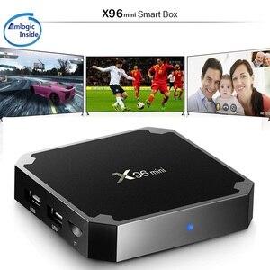 Image 3 - Touyinger X96 MINI Smart Android 7.1 TV BOX 2GB RAM 16GB Amlogic Quad Core support 4K Media Player 2.4GHz WiFi IPTV Set top box