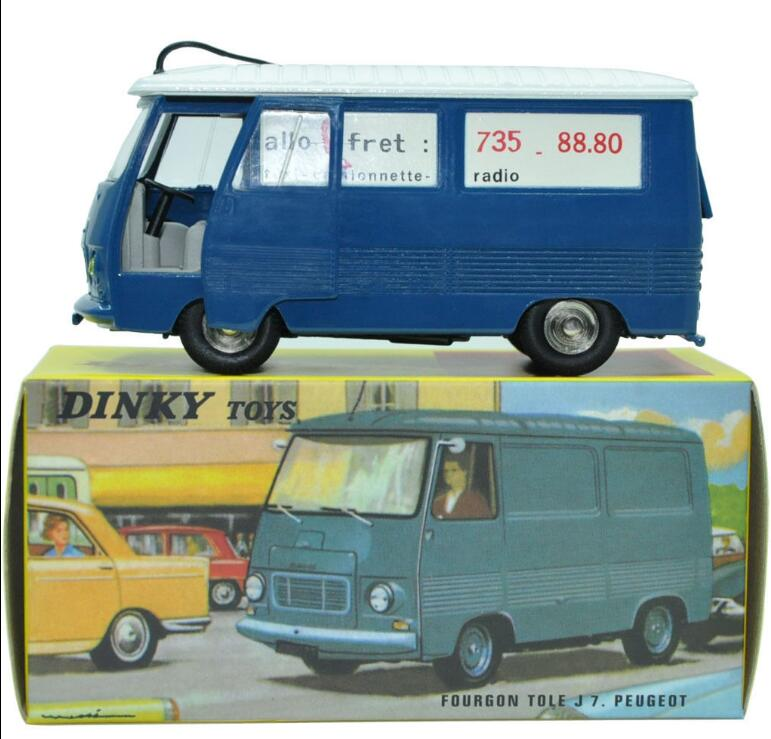 1:43 model car Miniatures Dinky toys 570 Alloy Diecast Car & Toys Model