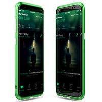 Original BOBYT Phone Case For Samsung Galaxy S8 S8 Plus Luxury Metal Bumper Clear Acrylic Plate