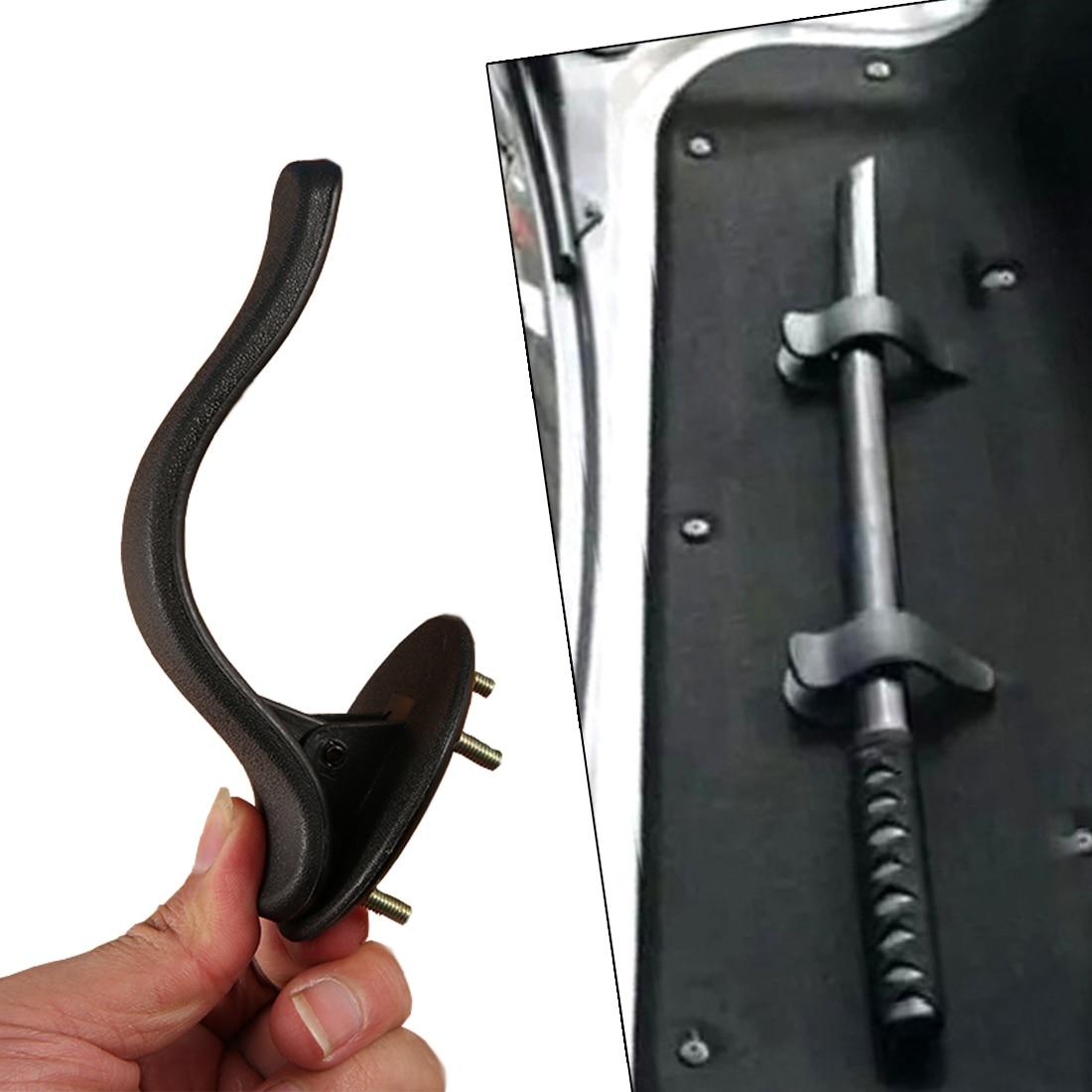 Dewtreetali Useful 2pcs Car Trunk Mounting Bracket Umbrella Holder Clip Hook Interior Fashion Multifunctional Fastener Accessory