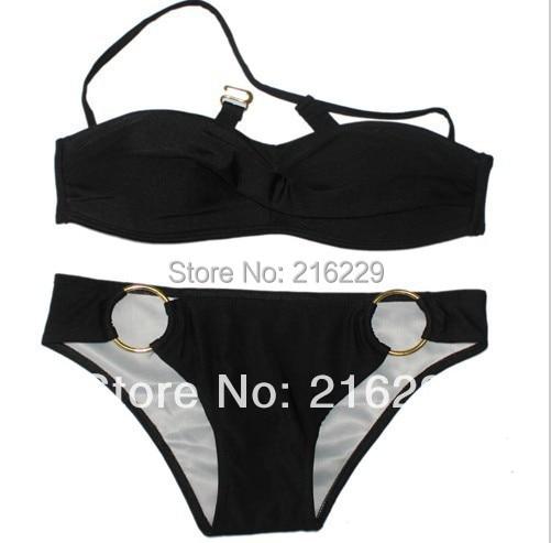 Push Up Bikinis PAD forró fürdőruhák szexi női párnázott - Sportruházat és sportolási kiegészítők - Fénykép 3