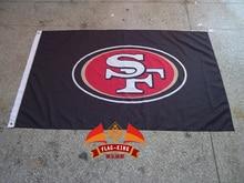 San Francisco 49ers Rugby Club house flag, San Francisco 49ers Rugby   banner,90*150 CM polyester banner