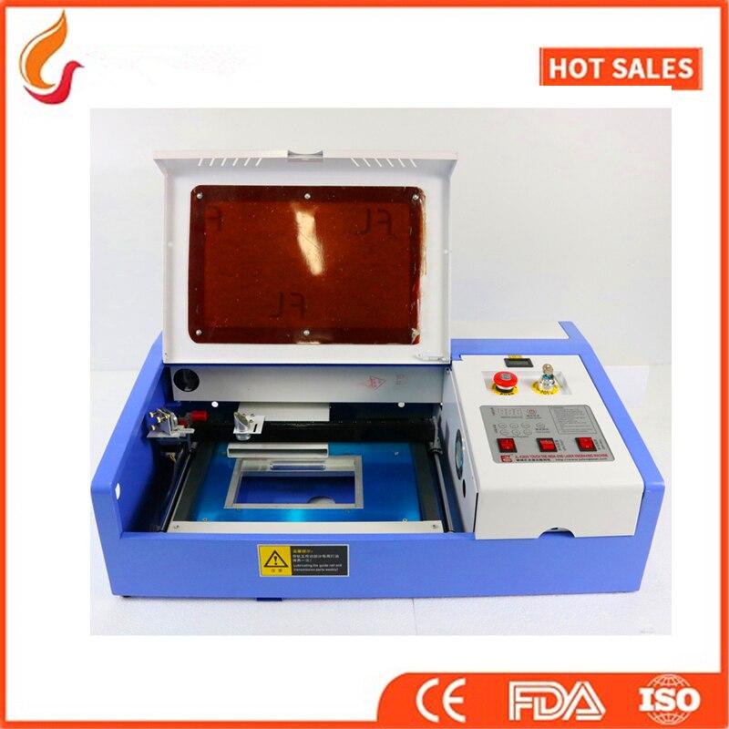 3020 co2 лазерная гравировка машины лазерной резки для rexine фанеры, акрил, штамп, ткань, фетр