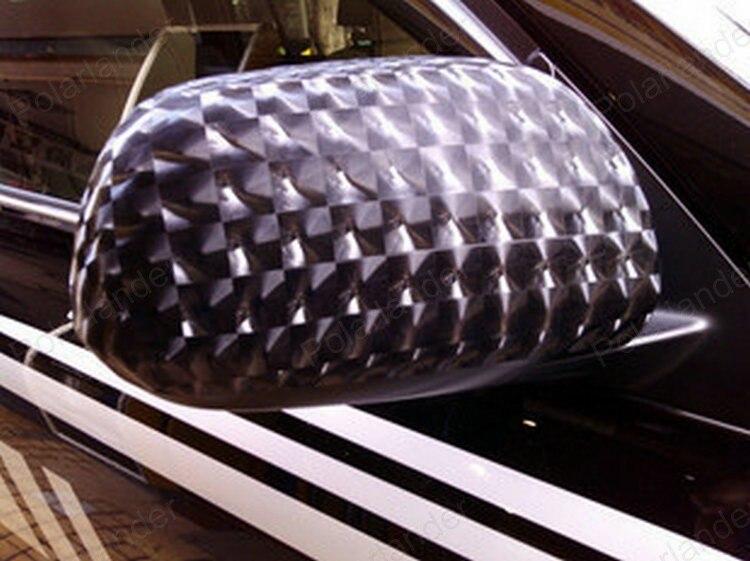 Carro De Fibra De Carbono 4D Cat Eye Film decoração Adesivo Auto Wrapping Vinyl Foil Alterar Cores Covers 152x20 CM - 2