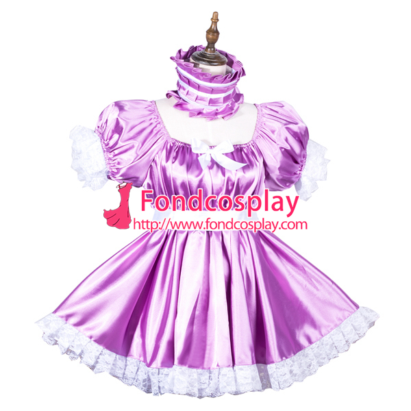 fc9f485fa Adult baby satin Romper/dress lockable Unisex tailor made[G3814] on  Aliexpress.com   Alibaba Group