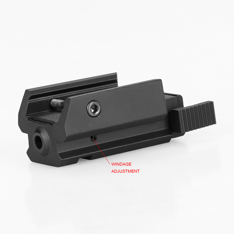 PPT tactical airsoft accessories 20mm mounting red laser sight red laser pointer for pistol GZ20-0015