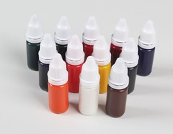 1 PCS Colorful 10 ml Photosensitive Seal Stamp Ink Flash Stamping Machine Kit Stamp Oil Accessories