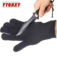 YTQHXY Fishing Gloves Anti-cut Anti-slip Outdoor Hunting Cut Resistant Protective Knife Hand Protection Mesh Gloves WQ452 все цены