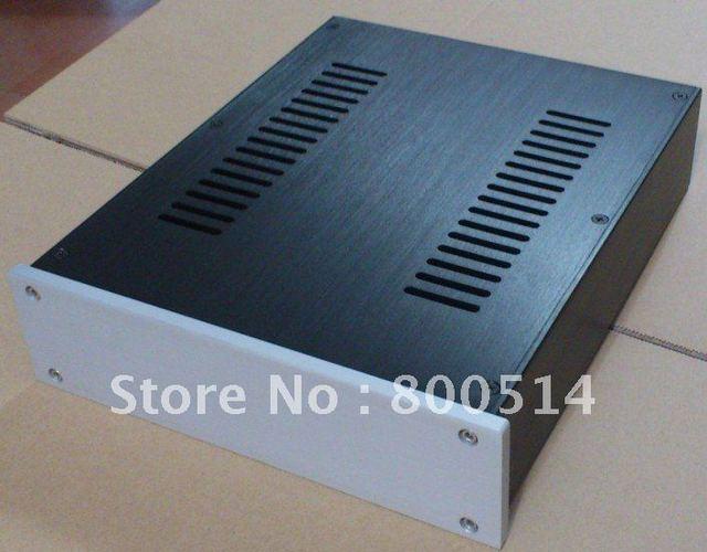 2607 --  Full aluminum enclosure / preamp case /headohone amplifier chassis