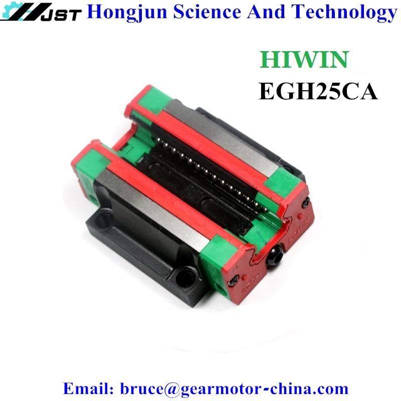 Brand new original HIWIN EG25 EGH25 EGH25CA linear guide block Linear Guide CNC Parts