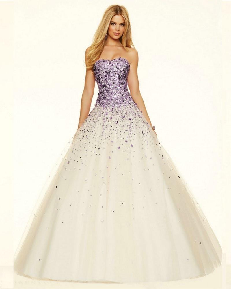 Online Get Cheap Beautiful Purple Prom Dresses -Aliexpress.com ...