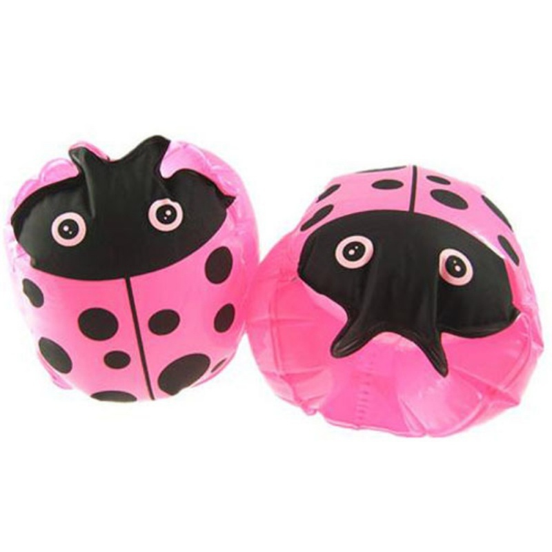 New Child Kids Beetle Sleeve pink Toys Kids Funny Toy Inflatable Trampoline Baby Girls Toys